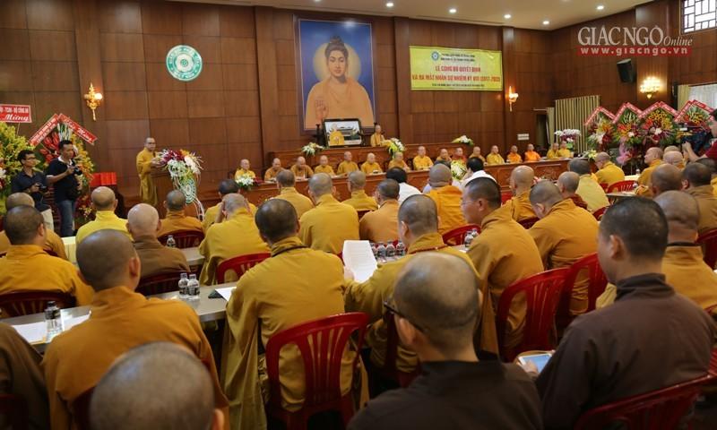 Nhân sự Ban Phật giáo Quốc tế T.Ư và Ban KTTC T.Ư